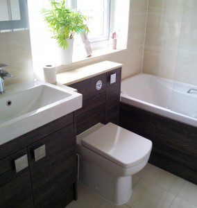 Bathroom wet room Farnborough 4